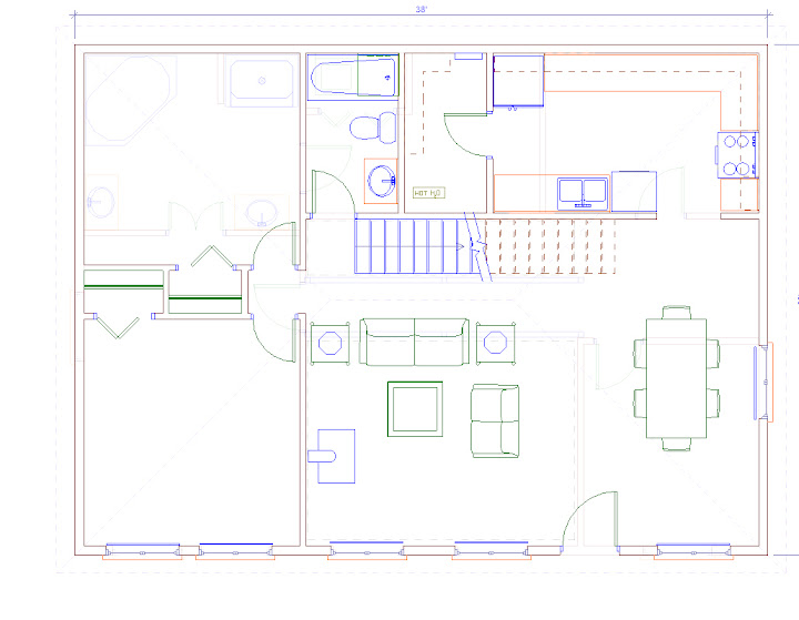 Home Plans For 30x40 Site – 30X40 House Floor Plans