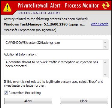 privatefirewall-alert