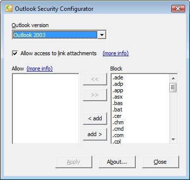 outlook-security