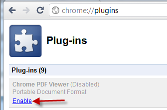 chrome-pdf-enable