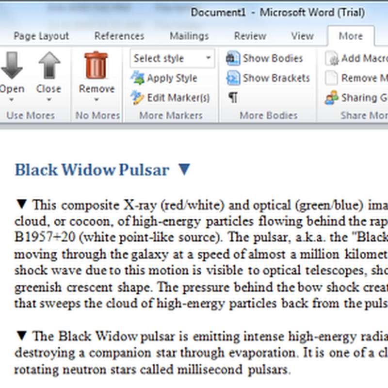 Hide sensitive data in Word documents with Redaction
