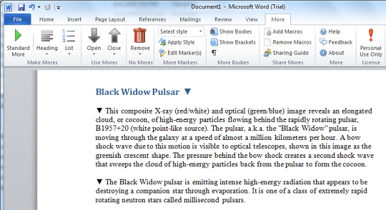 Create collapsible/expandable sections in Word documents ...
