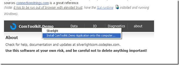 Everything SQL Server Compact: Access a local SQL Compact database