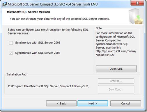 microsoft sql server 2005 compact edition enu