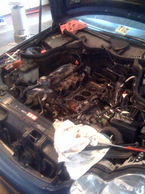 VWVortex com - Mercedes Benz W203 2005 C230 replacing valves