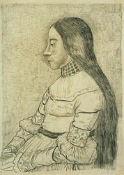Daughter of Jacob Meyer, The (after Holbein)