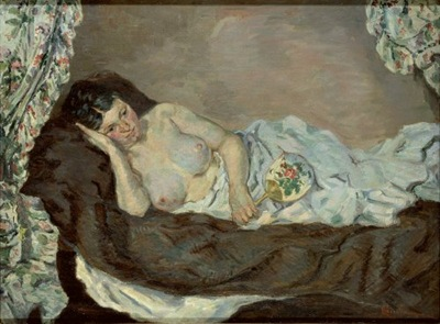 Guillaumin - Nude woman on a bed