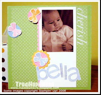 Bella 3mths 8x8