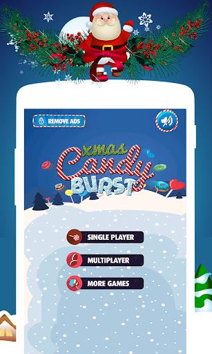Christmas Candy Burst