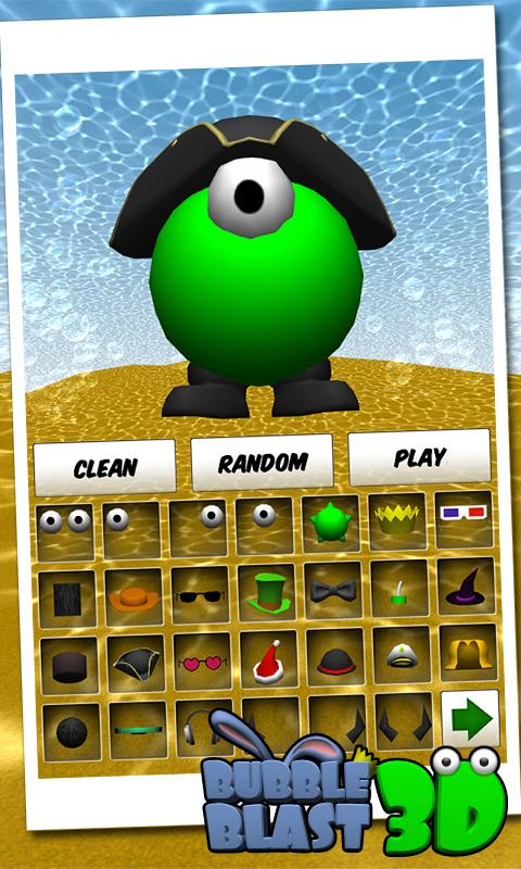 Bubble Blast 3D- screenshot