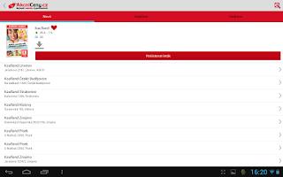 Screenshot of Akční ceny