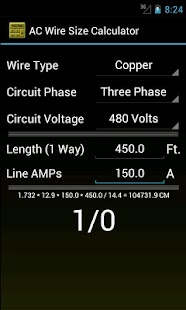 Wire size calculator android apps on google play wire size calculator screenshot thumbnail wire size calculator screenshot thumbnail greentooth