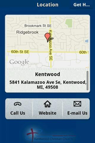 Kentwood Christian Church- screenshot