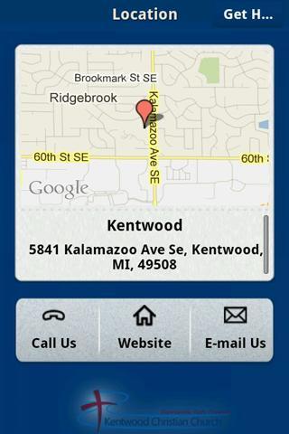 Kentwood Christian Church - screenshot