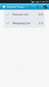 Shopping List Manager screenshot 0