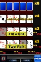 Screenshot of Upgrade Video Poker FREE