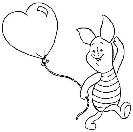 Dibujos De Winnie De Pooh Para Colorear