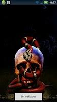Screenshot of Skeleton Snake Live Wallpaper