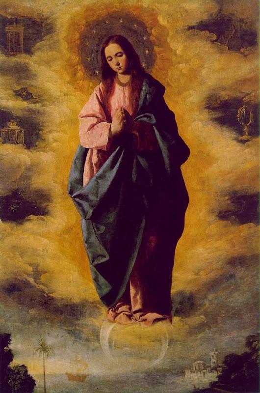 francisco de zurbarán, inmaculada concepción