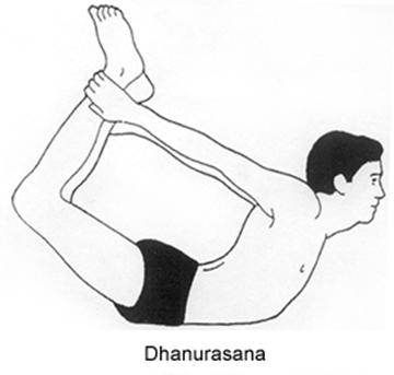 mind  health dhanurasana  benefits