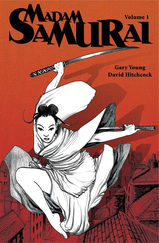 Modern Samurai issue 1 from Scar Comics
