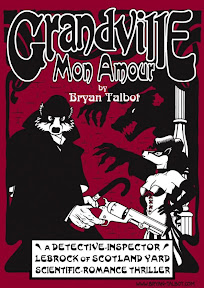 The Jonathan Cape edition of Grandville Mon Amour
