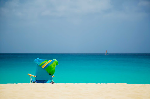 Imagine yourself here: in a chair facing the warm tropical waters of Anguilla.