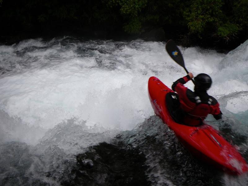Anton Imler about to break his kayak