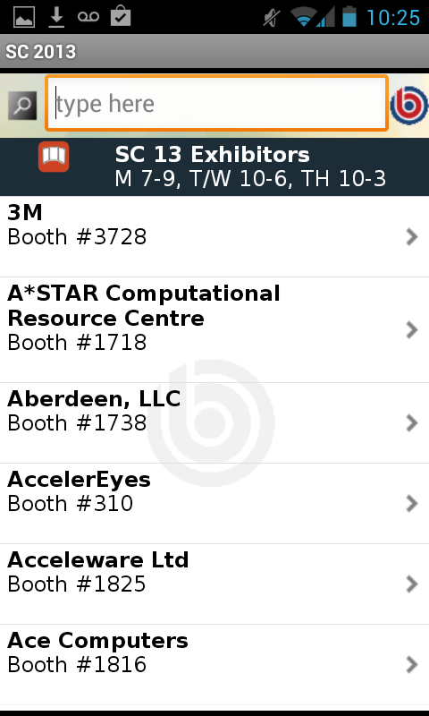 SC 13 - screenshot