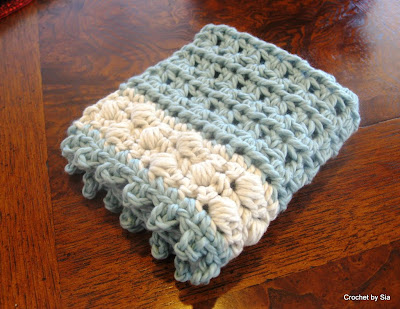 Crochet By Sia Spa Washcloth Crochet Pattern