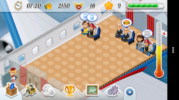Screenshot of Flight Express Simulator Game