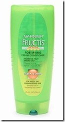 Garnier Fructis Haircare Fortifying Cream Conditioner, Sleek & Shine