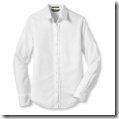 button down white wrinkle free shirt