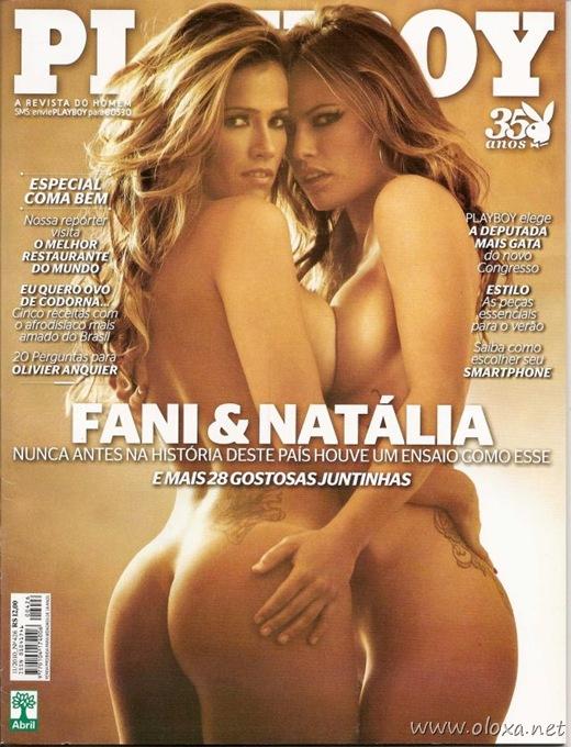 Playboy de novembro – Fani e Natália