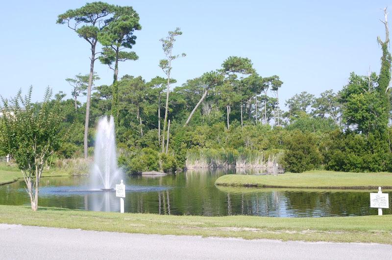 Pond - Royall Oaks Emerald Isle North Carolina