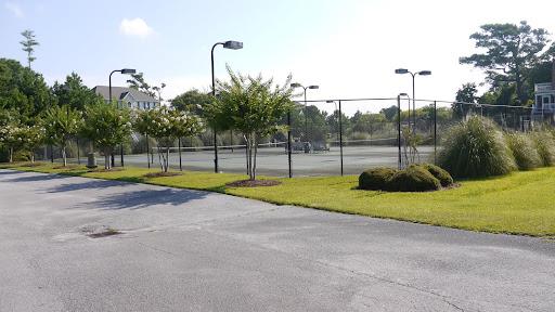 tennis courts - Royall Oaks Emerald Isle North Carolina