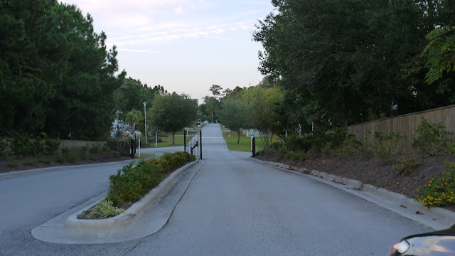 gated entrance - Cape Emerald a gated subdivision in Emerald Isle North Carolina