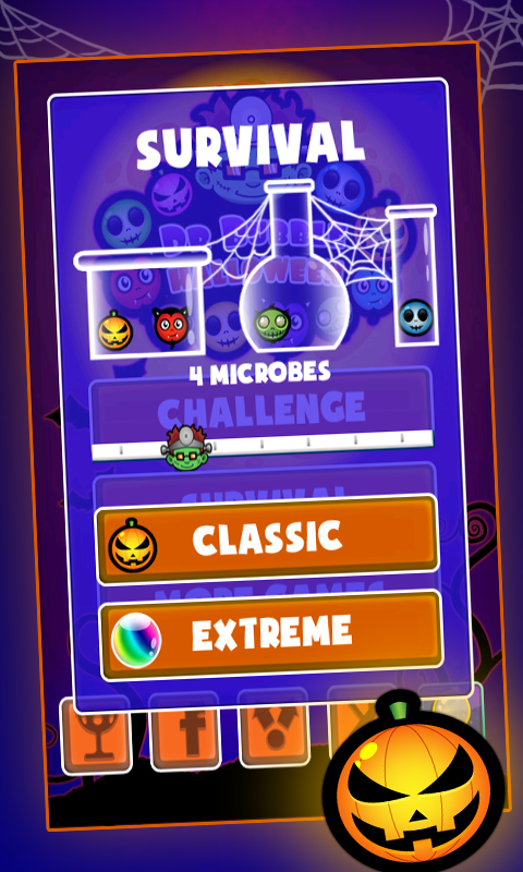Doctor Bubble Halloween- screenshot
