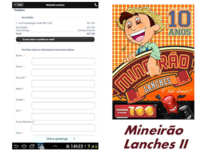 Mineirão Lanches Delivery- screenshot thumbnail