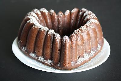 Sour Cream Chocolate Bundt Cake