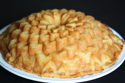 photo of a Coconut Mochi cake