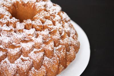 close-up photo of a Sweet Potato Bundt Cake