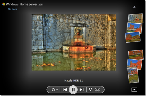 Home Server Picture Slideshow