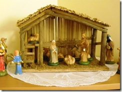 Christmas decorations-creche