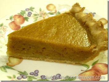 pumpkin pie slice GFDF