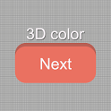 3D Color Next Launcher theme icon