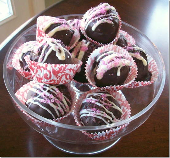 Strawberry Cake Truffles 019
