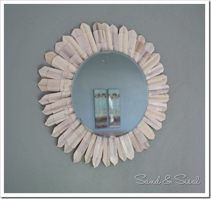 Ballard Inspired Sunburst Mirror