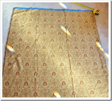 measure layout fabric