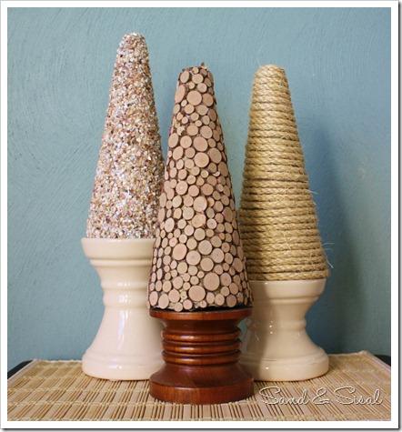 Textured Cone Trio